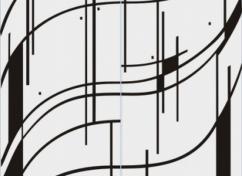 Пескоструйный рисунок для дверей-купе - 1136