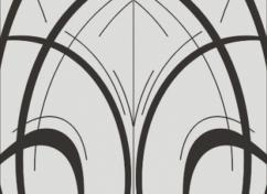 Пескоструйный рисунок для дверей-купе - 1151